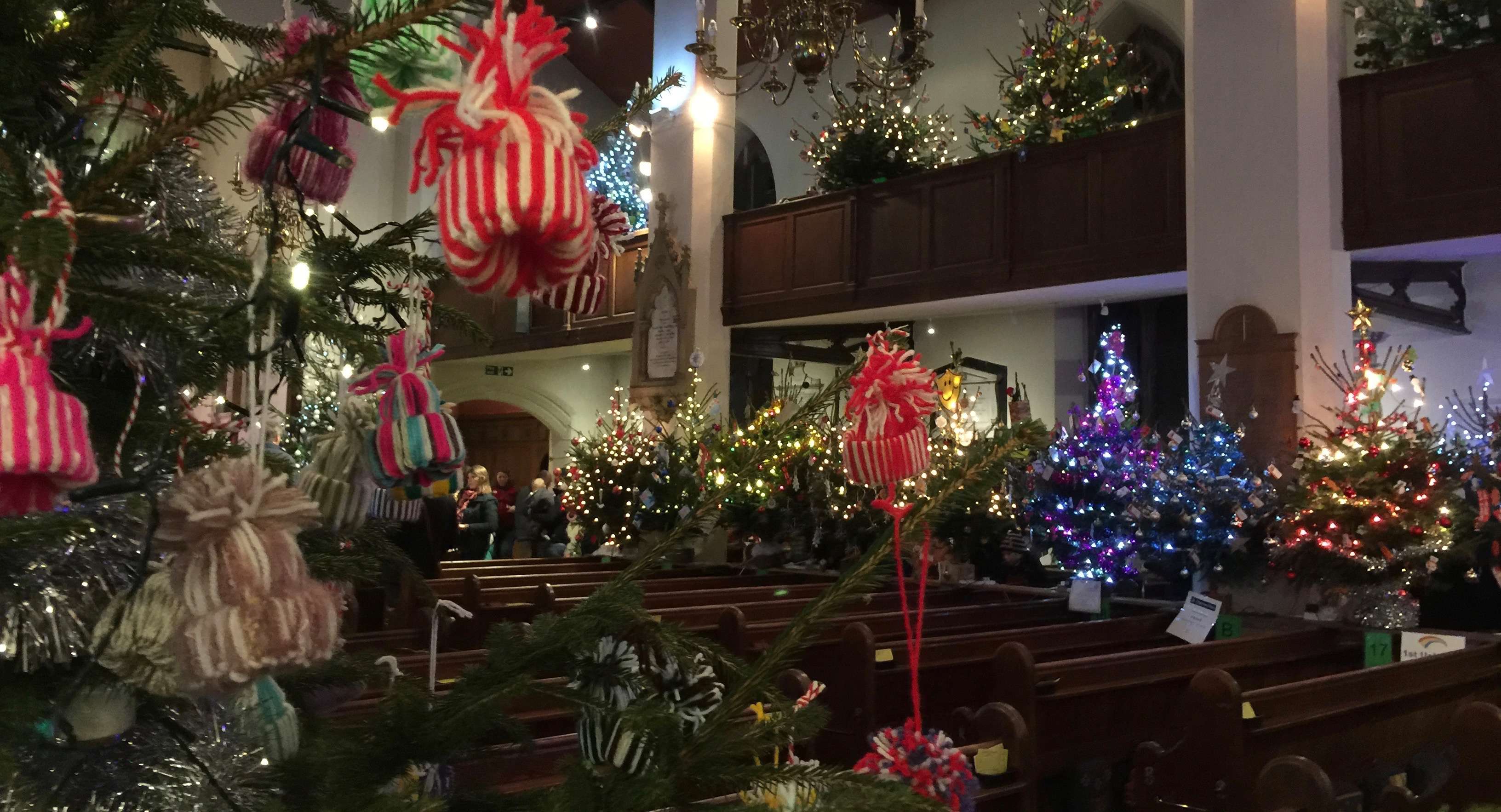 festival of christmas trees 2017 uckfield events