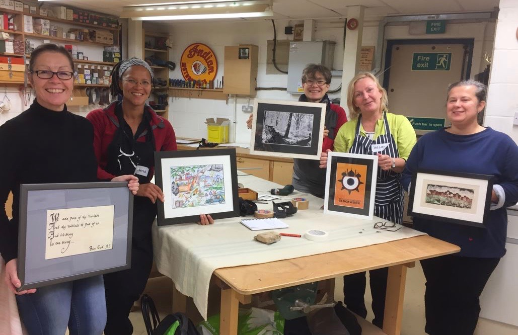 One-day beginners Picture Framing Course