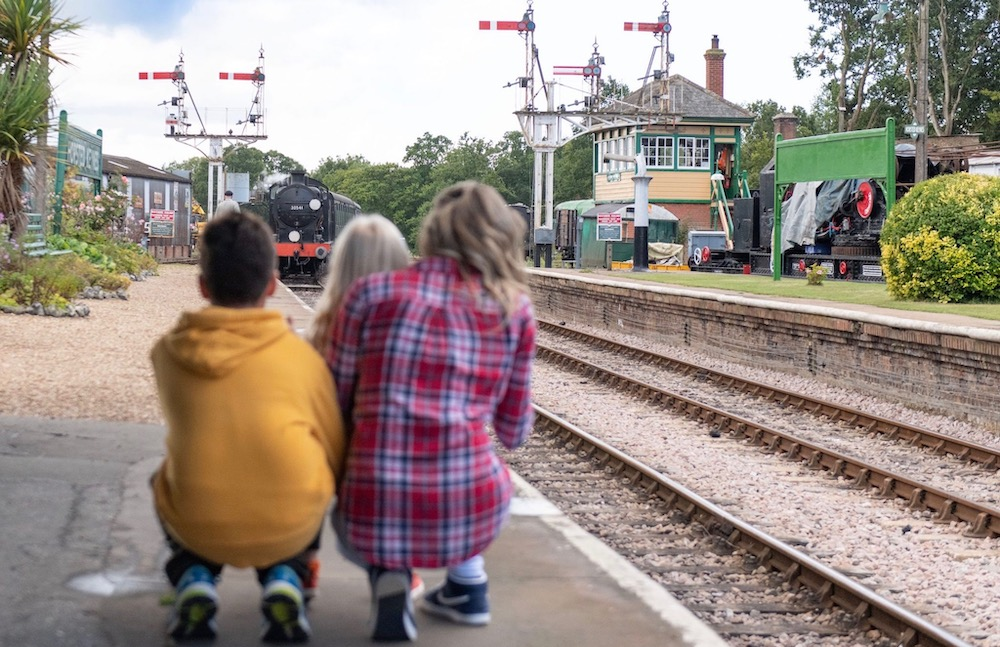 Kids for a Quid at Bluebell Railway