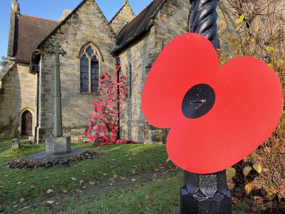 Remembrance at Maresfield